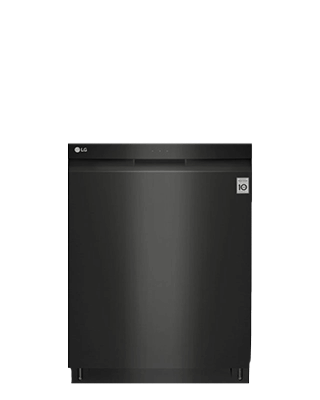 LG Matte Black Dishwasher