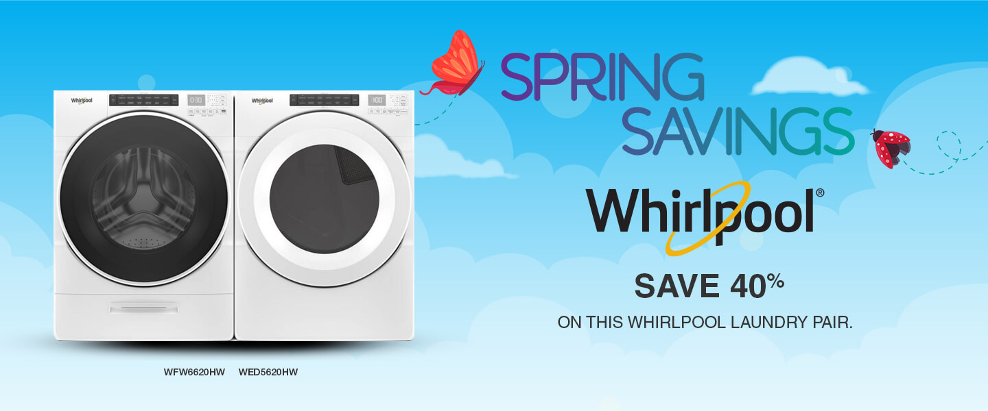 Buy More, Save More Whirlpool Appliances